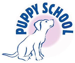 Puppy School colour logo